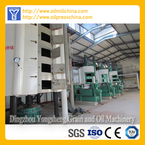 Vegetable Oil Processing Production Line