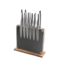 12pcs Stainless Steel Knife Set with Magnetic Block