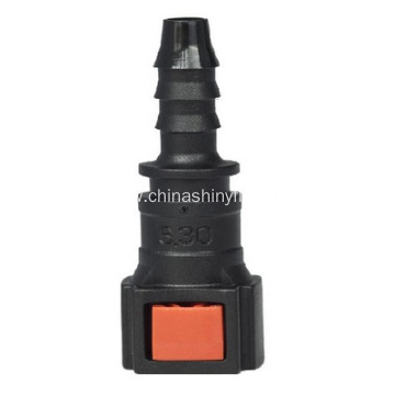 Urea Line Quick Connector Of 6.3 StraightTo Hose ID 6mm