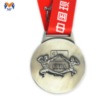 The fitness silver medals award