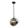 Edison bulb glass pendant light round hanging lamp