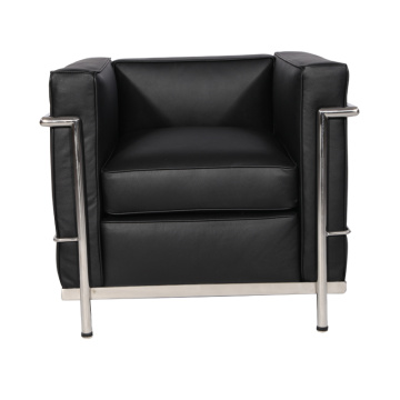 Le corbusier leather LC2 lounge chair