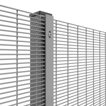 358 Mesh High Security Fencing Panels Powder Coated
