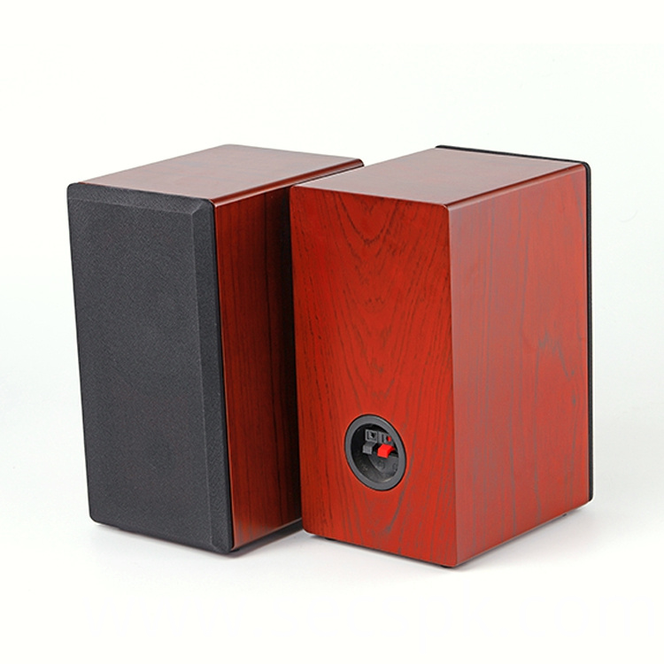Wooden Desk Speaker Box