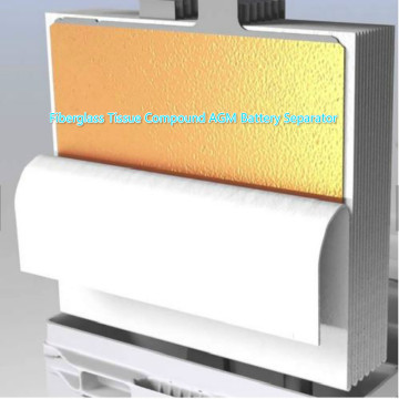 AGM Battery Separator Fiberglass Tissue Compound
