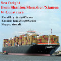 Sea freight rates from Shantou to Constanza