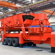 Factory making for VSI Crusher Mobile VSI Sand Crushing Plant For Stone Production supply to Thailand Exporter