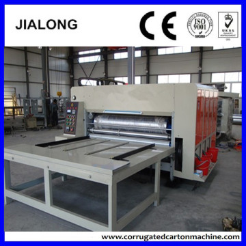 corrugated box printer slotter die cutter making machine