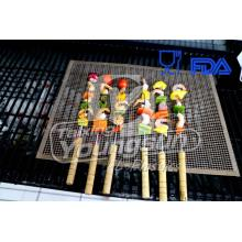 PriceList for for Non-Stick Oven Basket 4mm*4mm Non-stick Barbecue Mesh supply to South Korea Importers