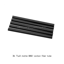 1000mm twill matte carbon fiber tube for sports