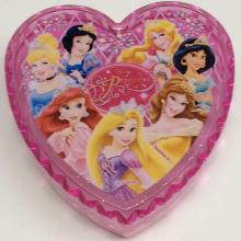 Factory directly sale for Jewelry Storage Box Plastic mini Disney heart shaped storage box export to Germany Wholesale