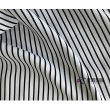 Classic Striped 100% Spun Rayon Printed Fabric