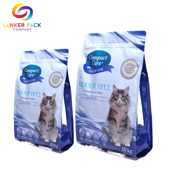 Brc Standard Custom Quad Seal Pet Food Packaging