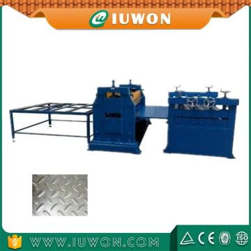 Willow Shape Metal Sheet Embossing Machine