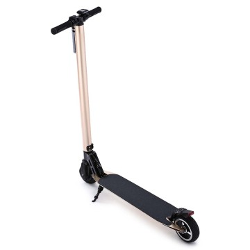 Goods high definition for Carbon Fiber Electric Scooter 5.5 inch Cuber Fiber Gold Color Electric Scooter supply to Dominica Exporter