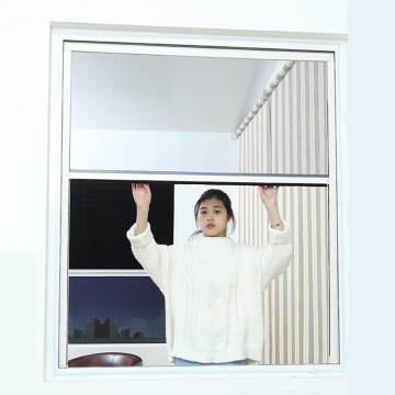 Retractable window with aluminum frame 3407