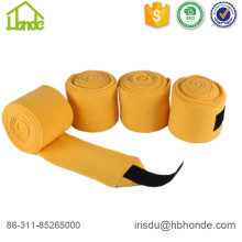 High Quality Yellow Polar Fleece Horse Leg Wrap