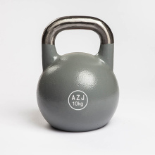 Best quality and factory for Vinyl Coated Kettlebell Power Training Cast Steel Kettlebells export to Bahamas Supplier