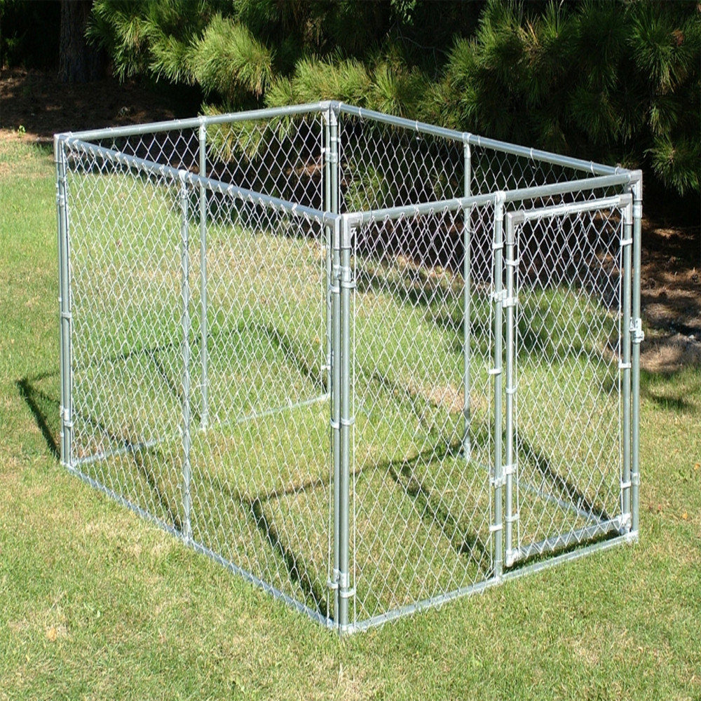 Galvanized Chain Link Fence Cage China Manufacturer