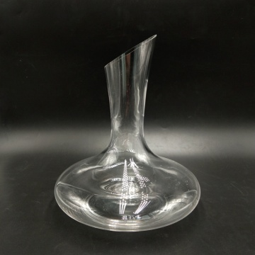 Crystal glass 1000ml simple style red wine decanter