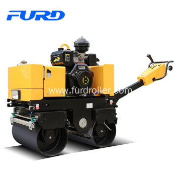 Excellent quality for for Walk-Behind Double Drum Roller,Manual Roller Compactor,Walk Behind Roller Manufacturer in China 800Kg Double Drum Roller Vibratory Compactor supply to Papua New Guinea Factories