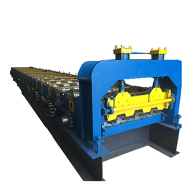 Color steel metal floor deck forming machine