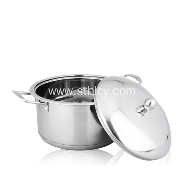 Stainless Steel Large Commercial Pots