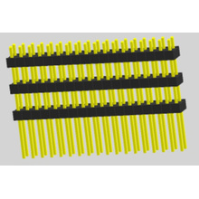 2.54mm Pin Header Dual Row Straight Triple Insulator