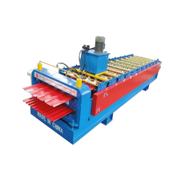Corrugated And Ibr Metal Panel Forming Machine