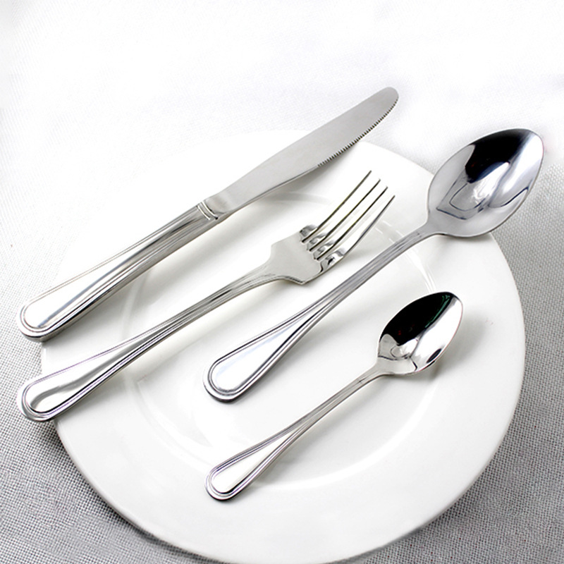 Cambridge Stainless Steel Flatware Gold