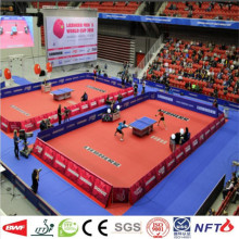 Good Quality Cnc Router price for Indoor Tennis Sports Flooring Table Tennis PVC Sports Flooring supply to Jordan Manufacturer