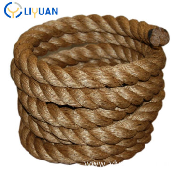 Wholesale natural twisted 3 strand manila rope