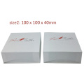 Custom logo printed paper watch box