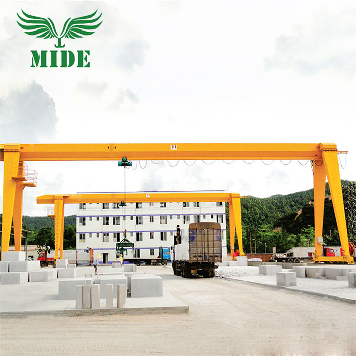 MH electric hoist single girder crane