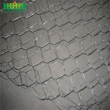 Hexagonal rockfall protection netting sack gabion