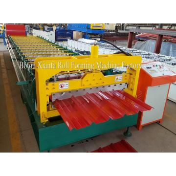 Galvanized Trapezoid Roof Roll Forming Machine