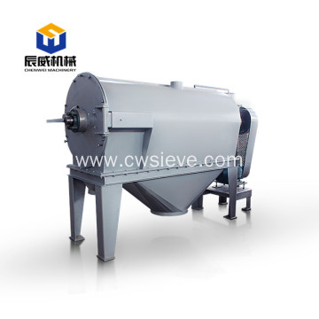 Fully enclosed centrifugal sifter for small particles
