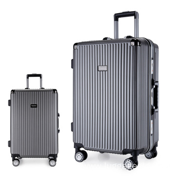 abs pc luggage spinner wheel suitcase