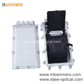256 Core Splice Closure Fiber Optical Universal Access Junction Box With 8Pcs Splice Tray