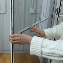 Aluminum Frame Screen Door DIY