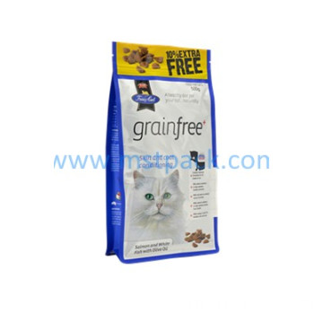 Pet Food Packaging with Box Pouch