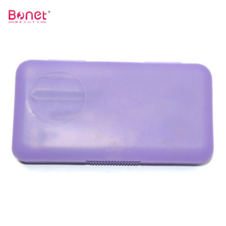 Nail Manicure Set With Plastic Containers