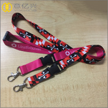 Hight quanlity polyester retractable badge lanyard