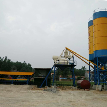 Low cost ready mixed concrete batching plant price