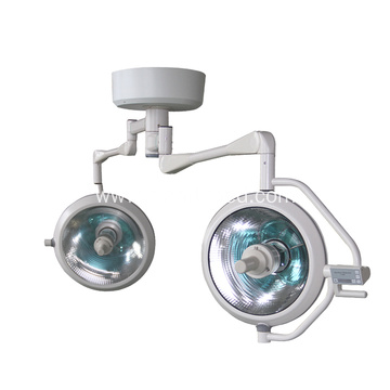 Hot Seller High Quality Medical Hospital Double Dome LED Overall Reflect Surgical Operation Lamp