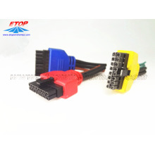 Molded Mini-fit cables For Harness