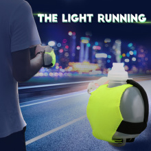 Factory best selling for Running Sport Water Bottle Mini night running wrist water bottles export to France Factories