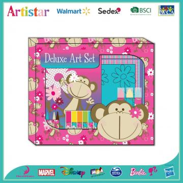 MONKEY activity deluxe art set