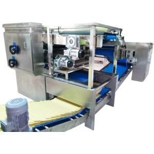 Reciprocating horizontal laminator for biscuit line