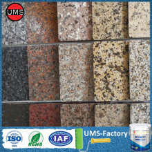 Granite masonry grey paint effect